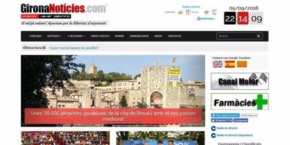 GironaNoticies.com celebra su 13º aniversario