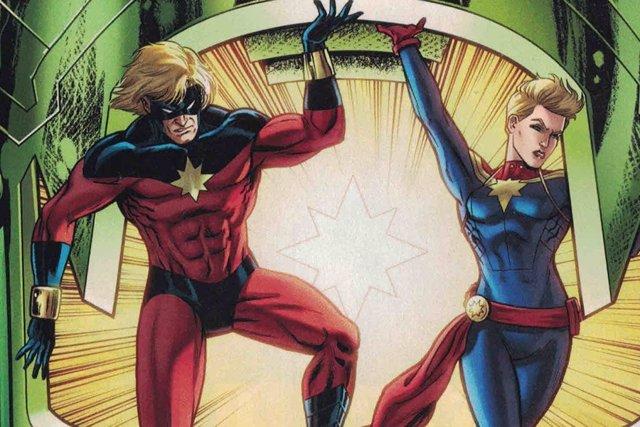 Mar-Vell y Capitana Marvel
