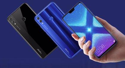 Honor presenta los 'smartphones' Honor 8X y 8X Max, con hasta 7,12 pulgadas de pantalla y batería de 5.000 mAh