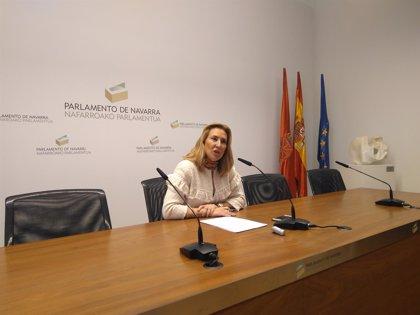 El PPN pide a la presidenta del Parlamento que se dirija a los parlamentarios 'populares' en castellano