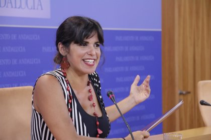 Teresa Rodríguez, dispuesta a liderar 'Adelante Andalucía', asegura que la confluencia estará lista para un adelanto