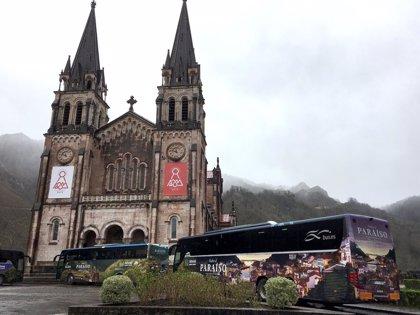 Autobuses gratuitos desde Cangas de Onís para asistir a Covadonga este sábado