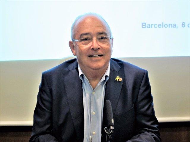 El conseller de Enseñanza de la Generalitat, Josep Bargalló