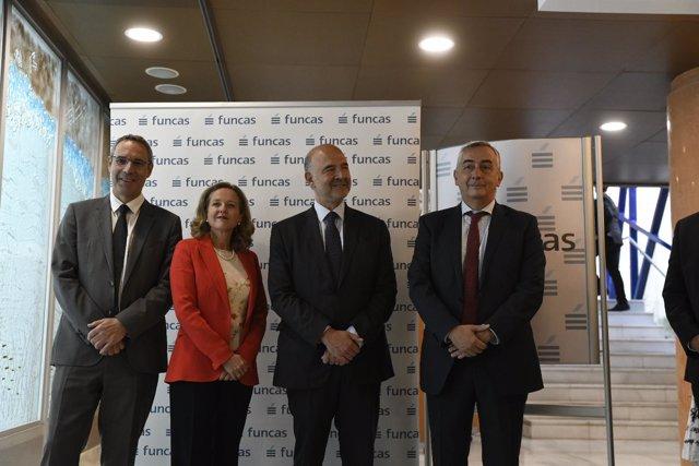 Conferencia en Madrid Crecimiento e inclusión social, organizada por Funcas, con
