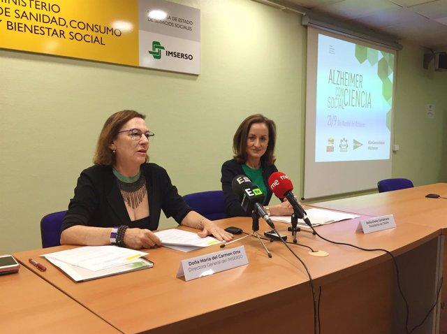 Cheles Cantabrana, Presidenta de la Confederación Española de Alzheimer y María