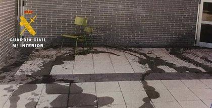 Detenido un hombre de 46 años por causar daños en el CEIP de Villagonzalo Pedernales (Burgos)