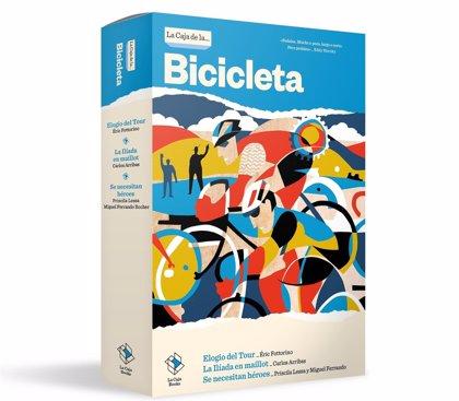 'La Caja de la Bicicleta' publica 'Elogio del Tour', 'La Ilíada en maillot' y 'Se necesitan héroes'
