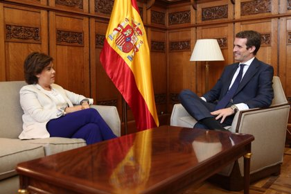 Pablo Casado guarda un puesto en su dirección para Santamaría, que también podría presidir una comisión del Congreso