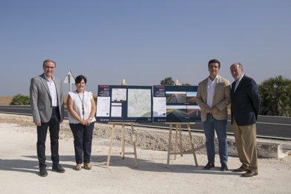 Diputación pone en valor las actuaciones de la SE-8104 Cañada Rosal a Palma del Río