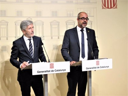 """Marlaska afirma que las supuestas agresiones policiales en Catalunya son """"casos esporádicos"""""""