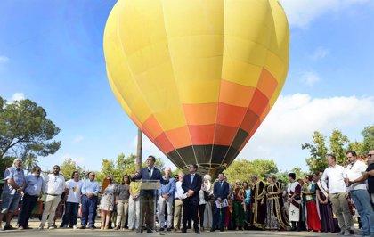 Un total de 12 murcianos por primera vez podrán montar en globo y sobrevolar la ciudad gracias a la Feria de Murcia