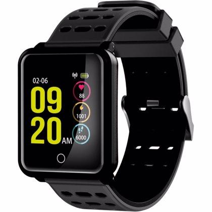 Ksix Mobile presenta su pulsera deportiva sumergible 'Fitness Band Cube HR'