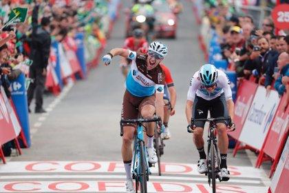 Geniez gana la etapa y Herrada es el nuevo líder de La Vuelta