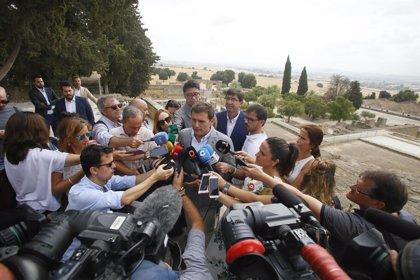 El Comité Ejecutivo Nacional de Cs analiza el cumplimiento del pacto de investidura con el PSOE-A