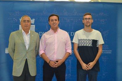 La nueva Junta Directiva del área de Juventud de AECC en Almería presenta su hoja de ruta en Diputación