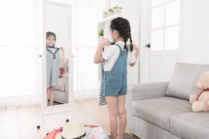 Los niños empiezan a preocuparse por su aspecto en torno a los 2 años