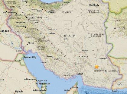 Registrado un terremoto de magnitud 5,5 a unos cien kilómetros de Bam (Irán)
