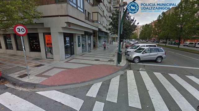 Avenida Bayona de Pamplona.