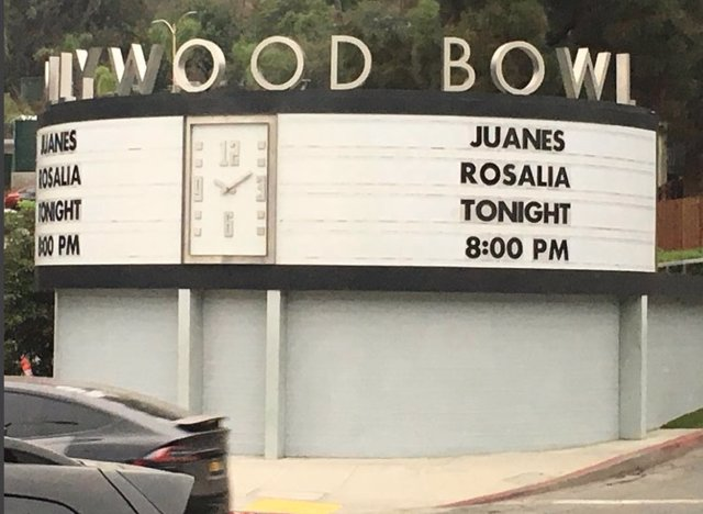 ROSALIA HOLLYWOOD BOWL