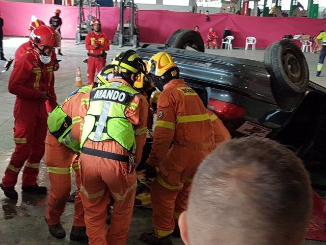 Bomberos de Gandia ganan el el encuentro de rescate en accidentes