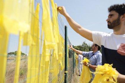 Un juez archiva la denuncia a 14 personas por arrancar lazos amarillos en Tarragona