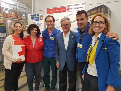 Cruz Roja y Makro firman un convenio para donar productos a personas en situación de extrema vulnerabilidad