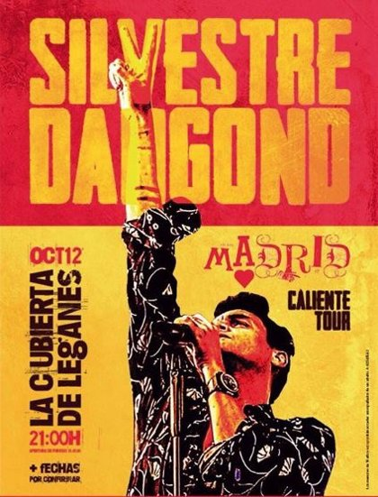 Silvestre Dangond actuará en Madrid el 12 de octubre en su gira 'Caliente Tour'