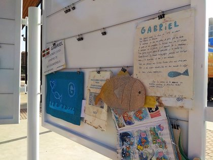 Los recuerdos del niño Gabriel se trasladan a un nuevo memorial en Almería