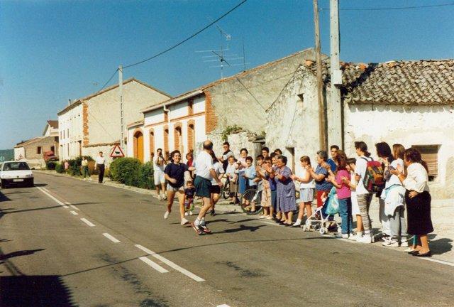 Participantes en la Carrera de El Henar.