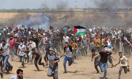 Heridos dos palestinos por un bombardeo de Israel en Gaza por el lanzamiento de 'globos incendiarios'