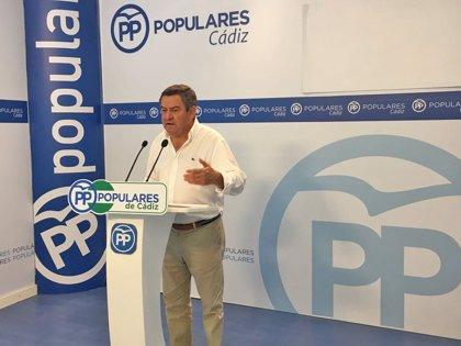 """Loaiza (PP) reclama """"el apoyo ciudadano"""" para impedir que el astillero de San Fernando (Cádiz) """"pierda las corbetas"""""""