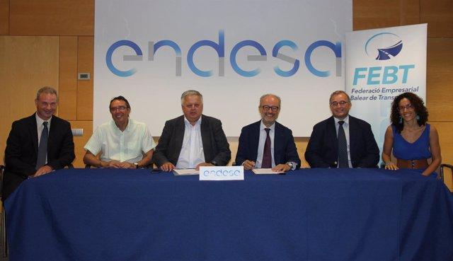 Endesa y la FEBT firman un convenio