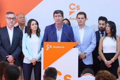 Ciudadanos prepara la ruptura con Susana Díaz en Andalucía