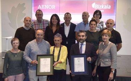 Bizkaia renueva las certificaciones de calidad y gestión ambiental que ya tenían 15 de sus 28 playas