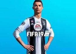 Cristiano Ronaldo, imagen del FIFA 19 de EA Sports