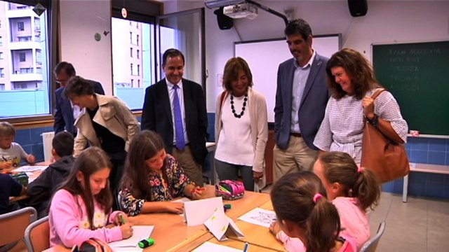 Inicio del nuevo curso escolar en Euskadi.