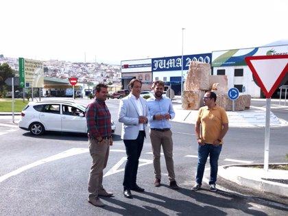 Finalizan los trabajos de mejora en la travesía de Bedmar (Jaén), con una inversión cercana a los 300.000 euros