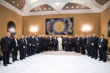 Obispos venezolanos informan al Papa sobre la situación en el país
