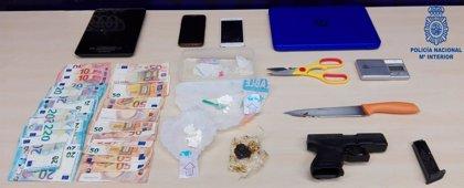 Detenida una pareja por distribuir cocaína en Santander