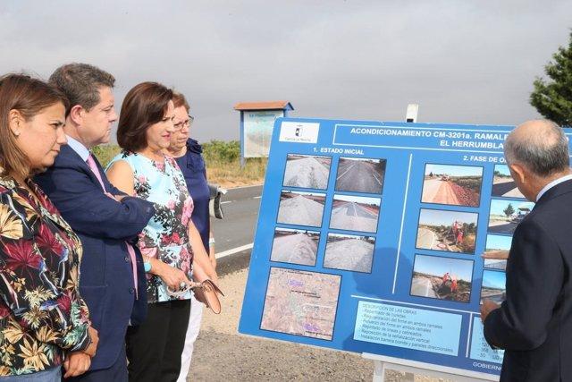 Consejera Fomento, Agustina García Élez