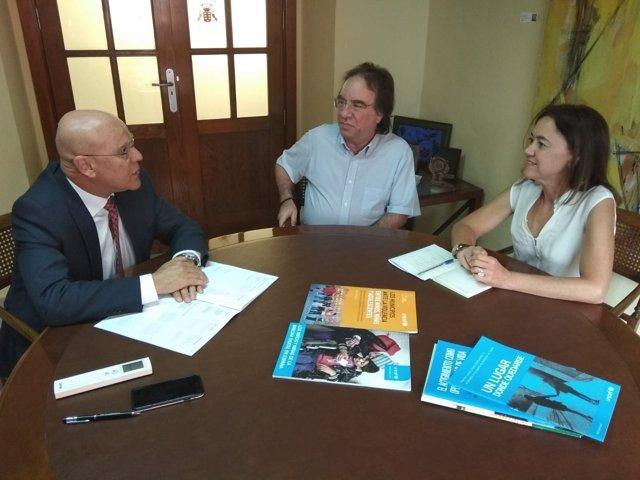 Reunión entre el Diputado del Común y Unicef