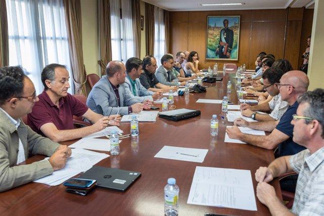 Reunión Comisión Flujos Migratorios en Campañas de Vendimia