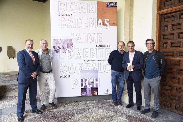 Inauguración exposición 'Cárdenas-Lorente-Puch' en Toledo