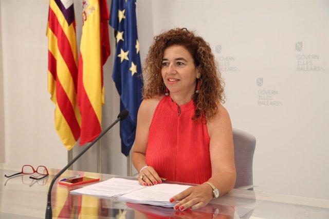 Pilar Costa, portavoz del Govern