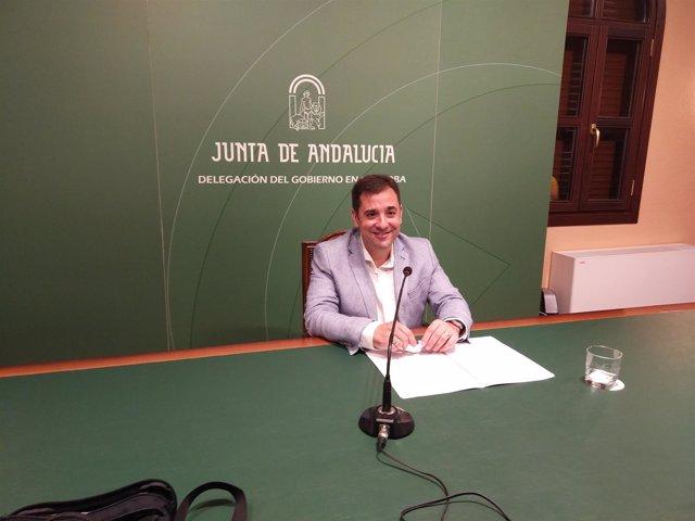 El delegado de Educación de la Junta, Antonio José López