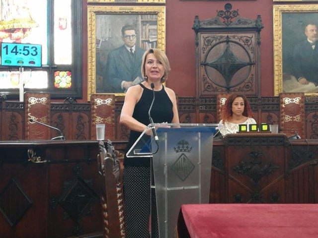 Margalida Durán, portavoz del PP de Palma