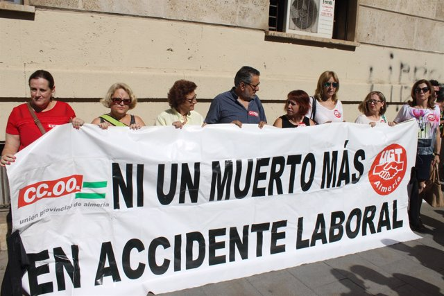 Concentración por muerte en accidente laboral