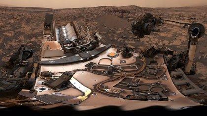 VÍDEO Panorámica 360 grados en Marte tras la tormenta de polvo
