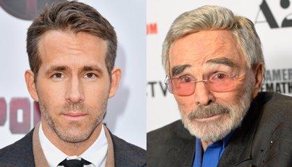 """El genial homenaje a Burt Reynolds de Ryan Reynolds: """"Él lo hizo primero. Y mejor. Y desnudo"""""""