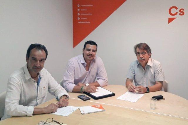 Pericay se reúne con el portavoz de IGC en Baleares
